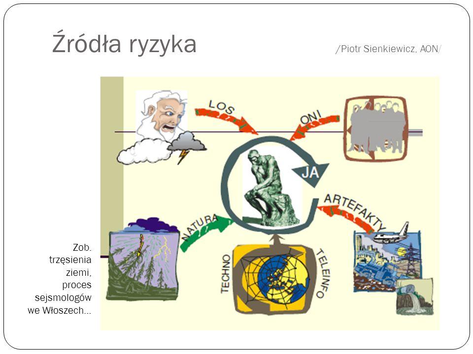 Źródła ryzyka /Piotr Sienkiewicz, AON/