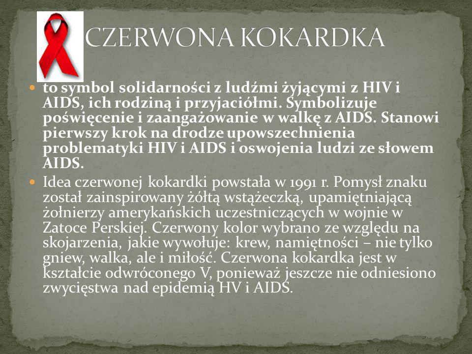 CZERWONA KOKARDKA