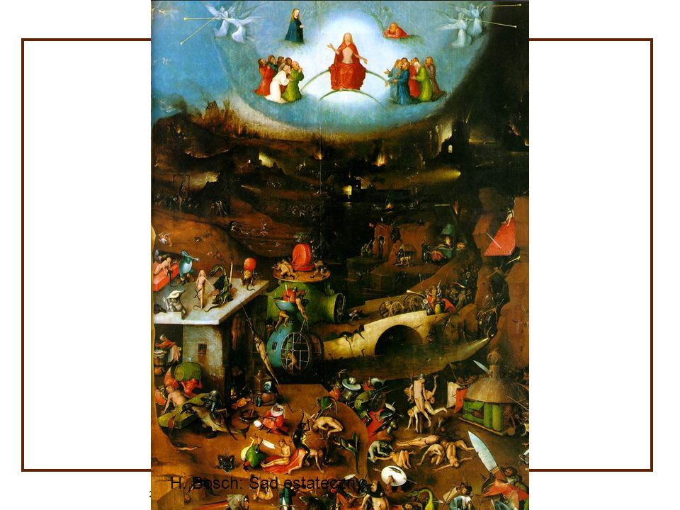 H. Bosch: Sąd ostateczny