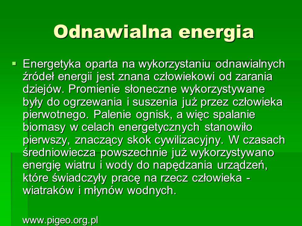Odnawialna energia