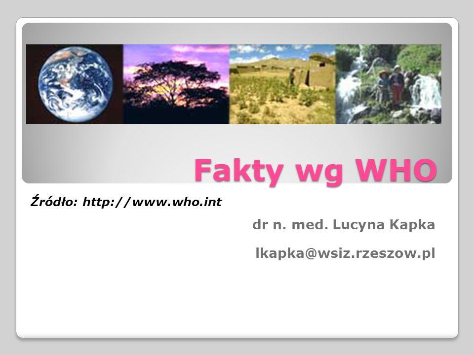 dr n. med. Lucyna Kapka lkapka@wsiz.rzeszow.pl