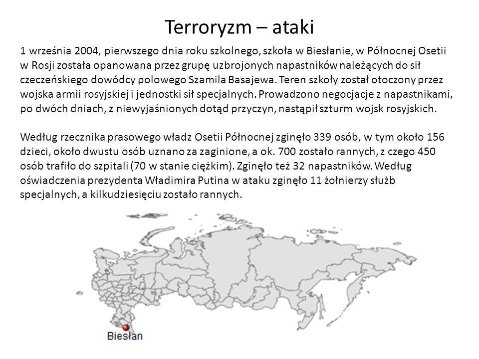 Terroryzm – ataki
