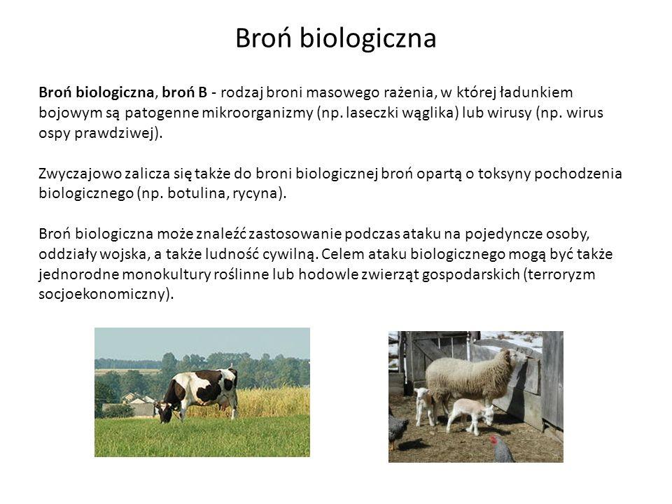 Broń biologiczna