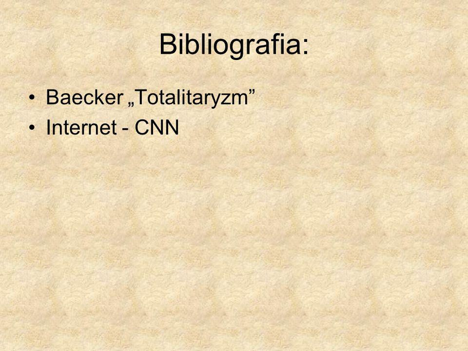 "Bibliografia: Baecker ""Totalitaryzm Internet - CNN"