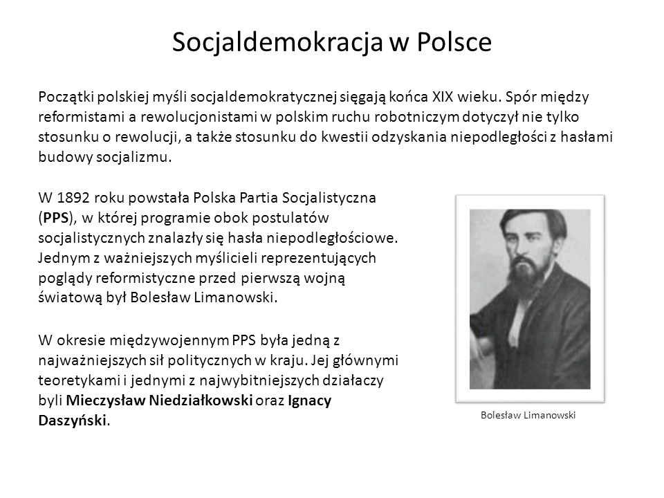 Socjaldemokracja w Polsce