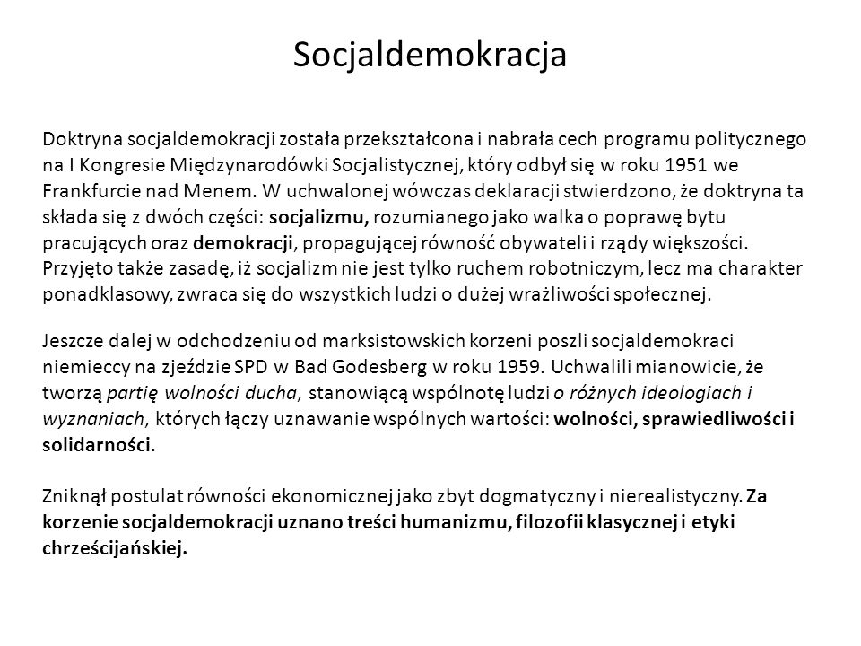 Socjaldemokracja