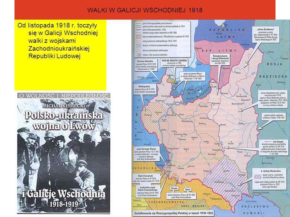 WALKI W GALICJI WSCHODNIEJ 1918