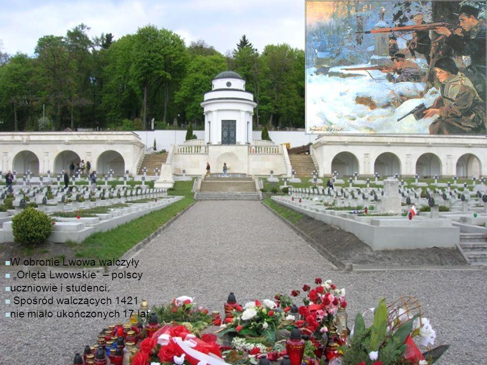 W obronie Lwowa walczyły