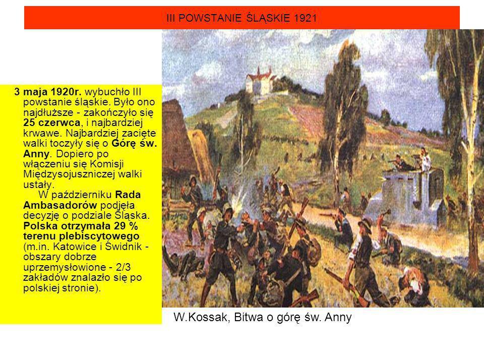 W.Kossak, Bitwa o górę św. Anny