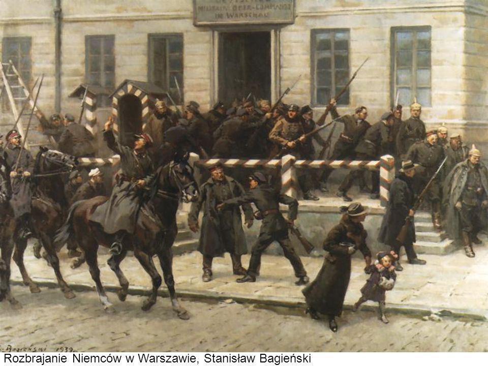 Rozbrajanie Niemców w Warszawie, Stanisław Bagieński