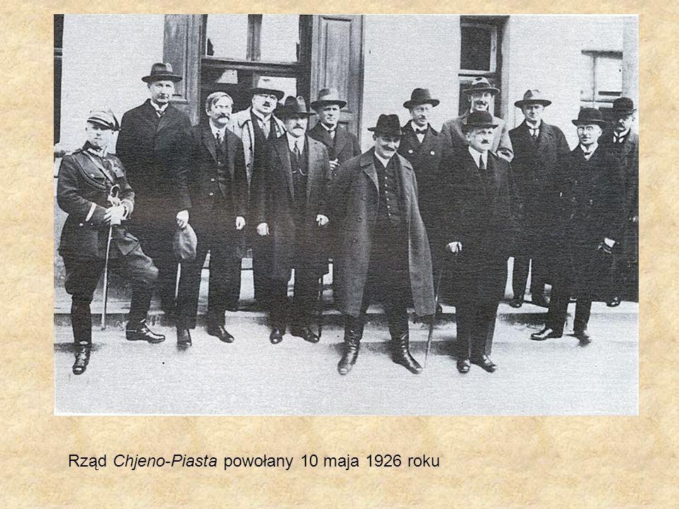 Rząd Chjeno-Piasta powołany 10 maja 1926 roku