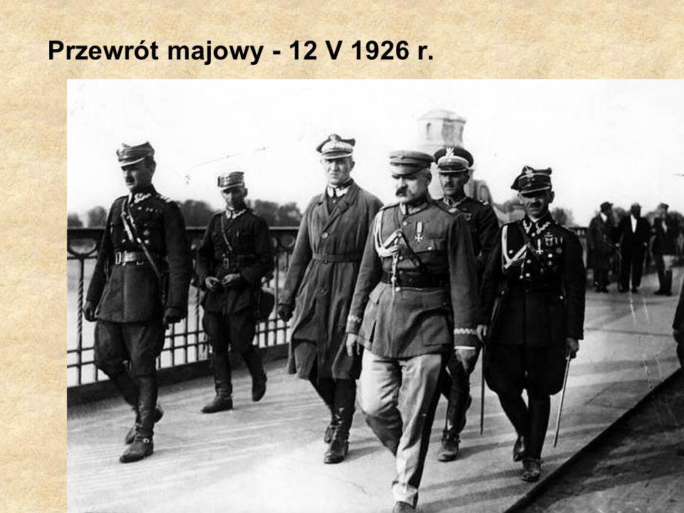 Przewrót majowy - 12 V 1926 r.