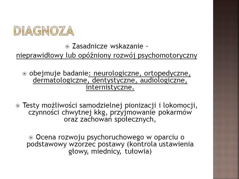 Diagnoza Zasadnicze wskazanie –