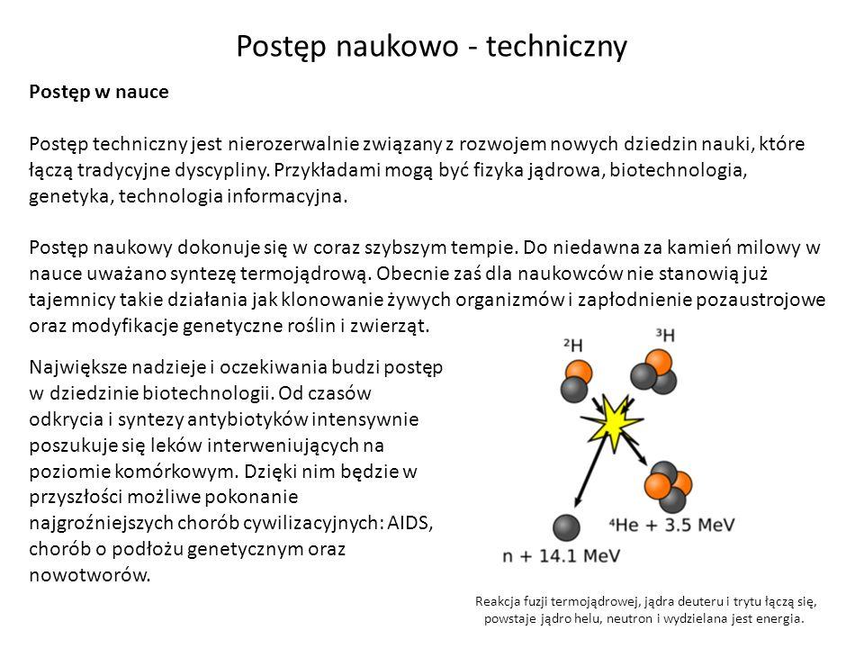 Postęp naukowo - techniczny