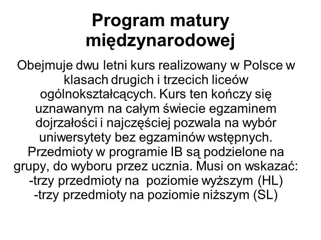 Program matury międzynarodowej
