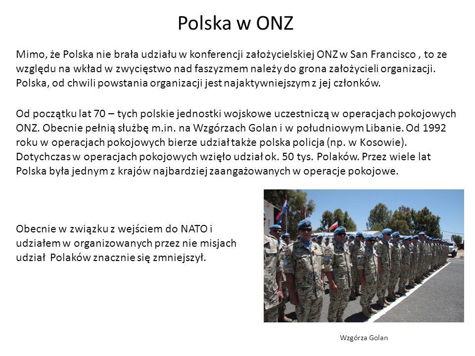 Polska w ONZ