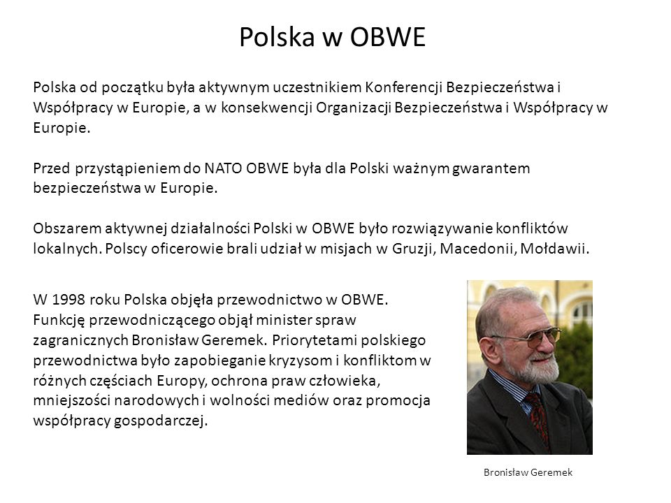 Polska w OBWE