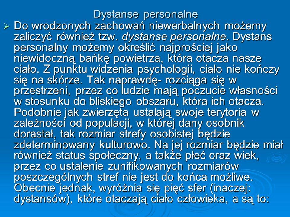Dystanse personalne