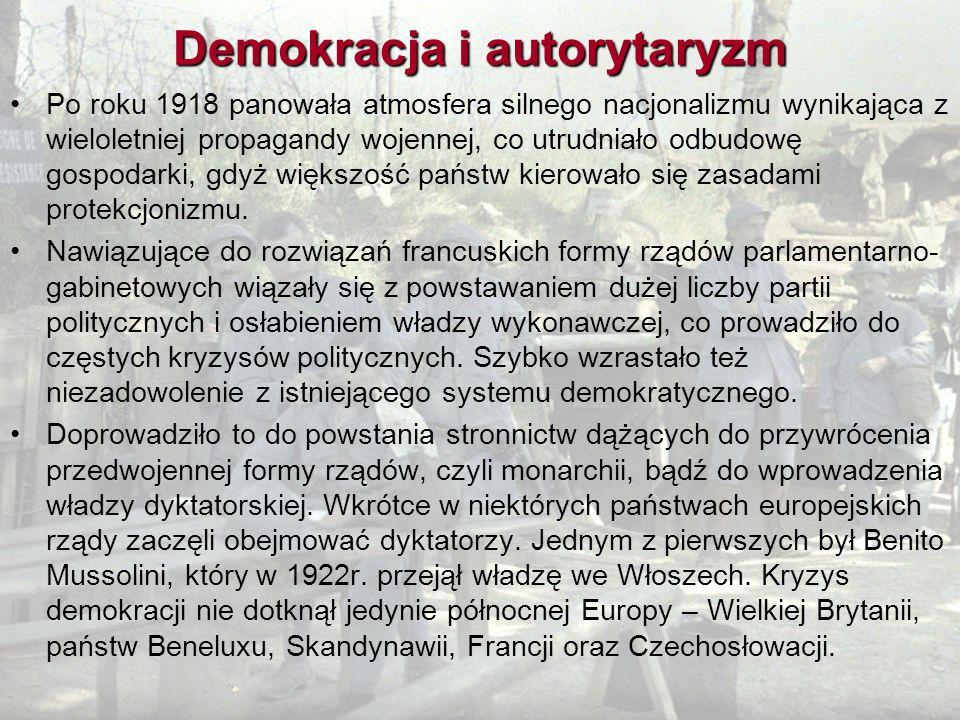 Demokracja i autorytaryzm