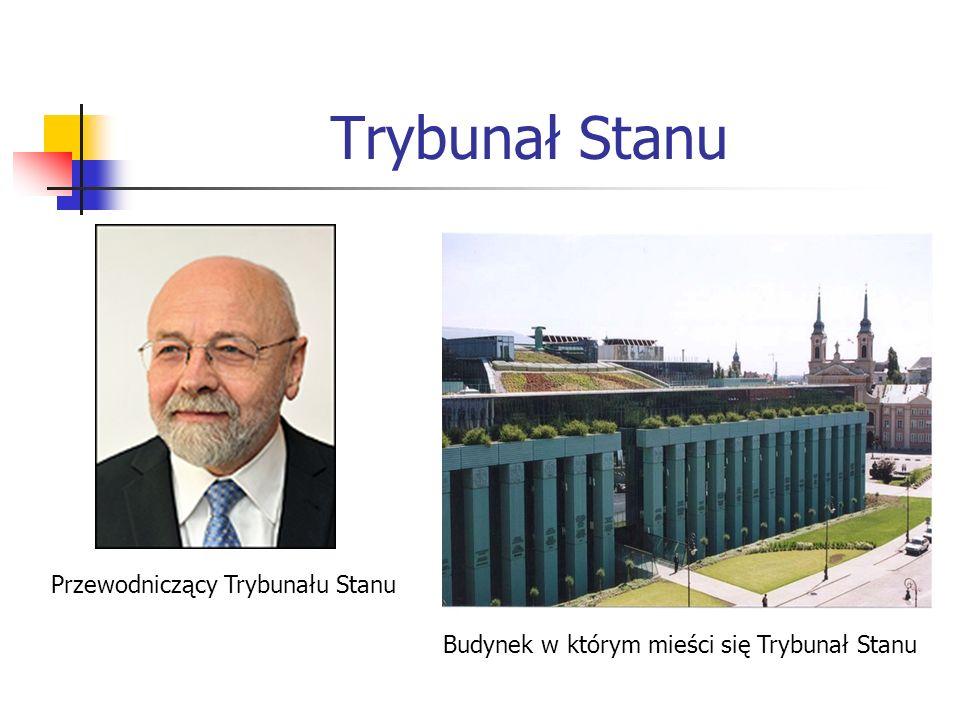 Budynek w którym mieści się Trybunał Stanu