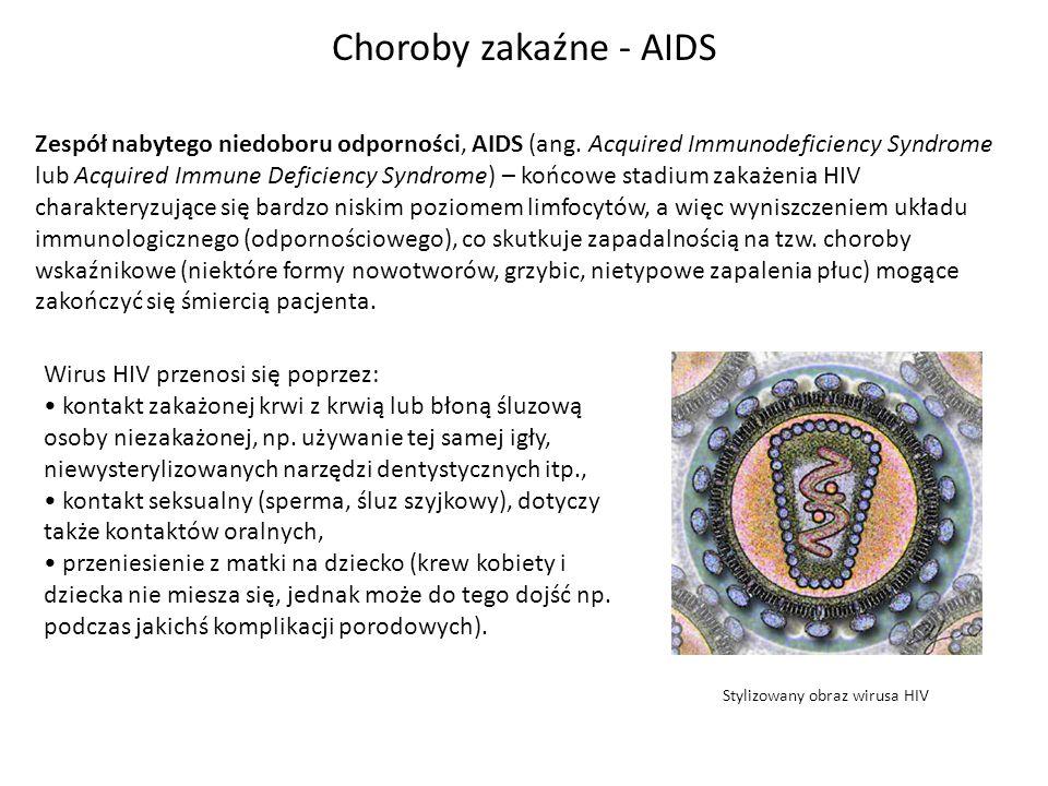 Choroby zakaźne - AIDS