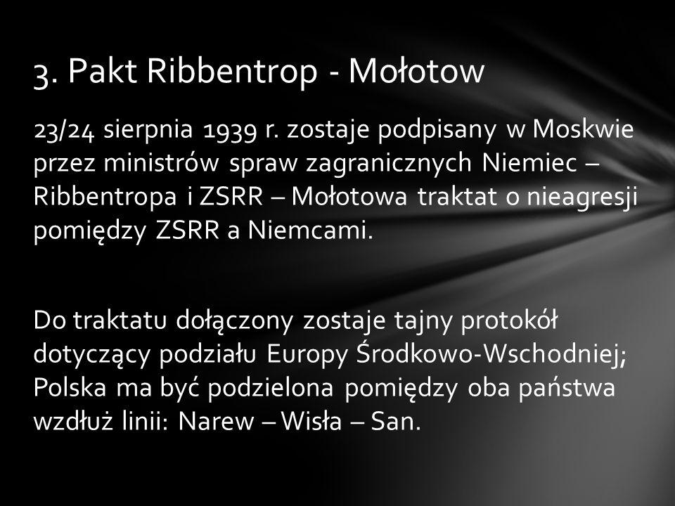 3. Pakt Ribbentrop - Mołotow
