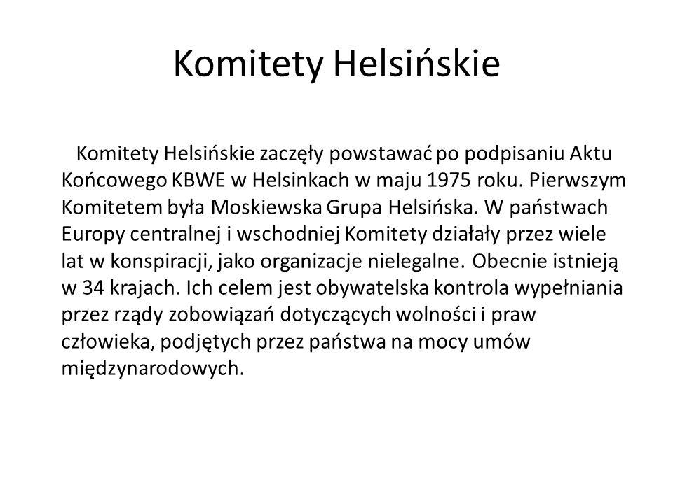 Komitety Helsińskie