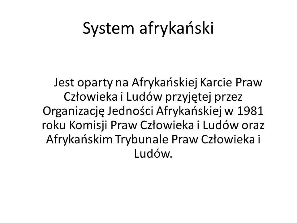 System afrykański