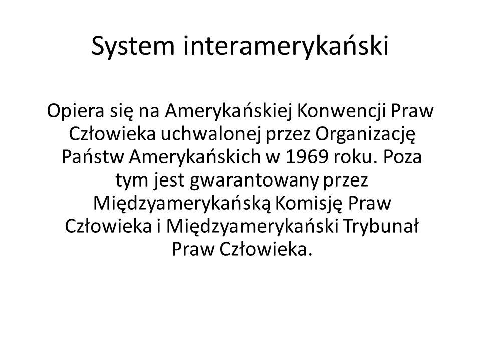 System interamerykański
