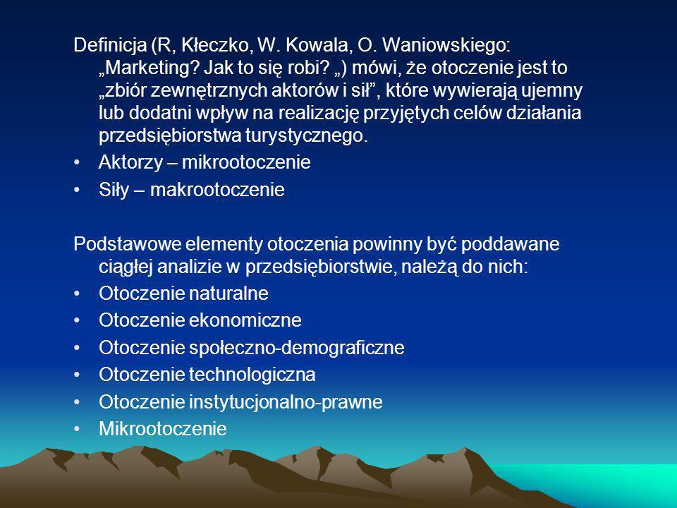 """Definicja (R, Kłeczko, W. Kowala, O. Waniowskiego: """"Marketing"""