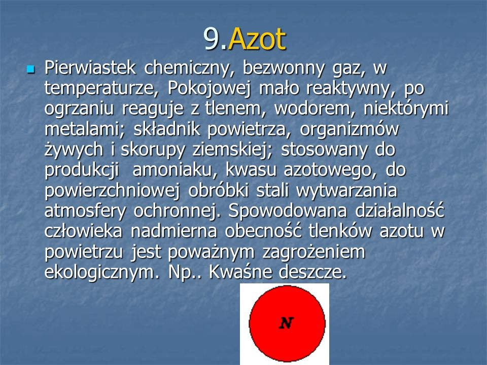 9.Azot