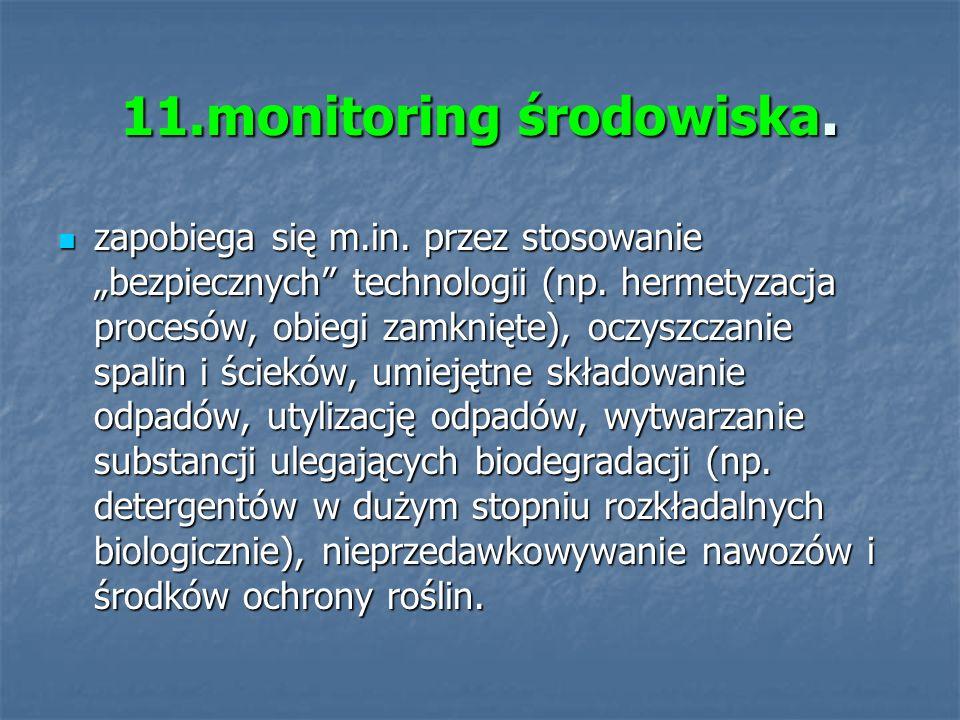 11.monitoring środowiska.