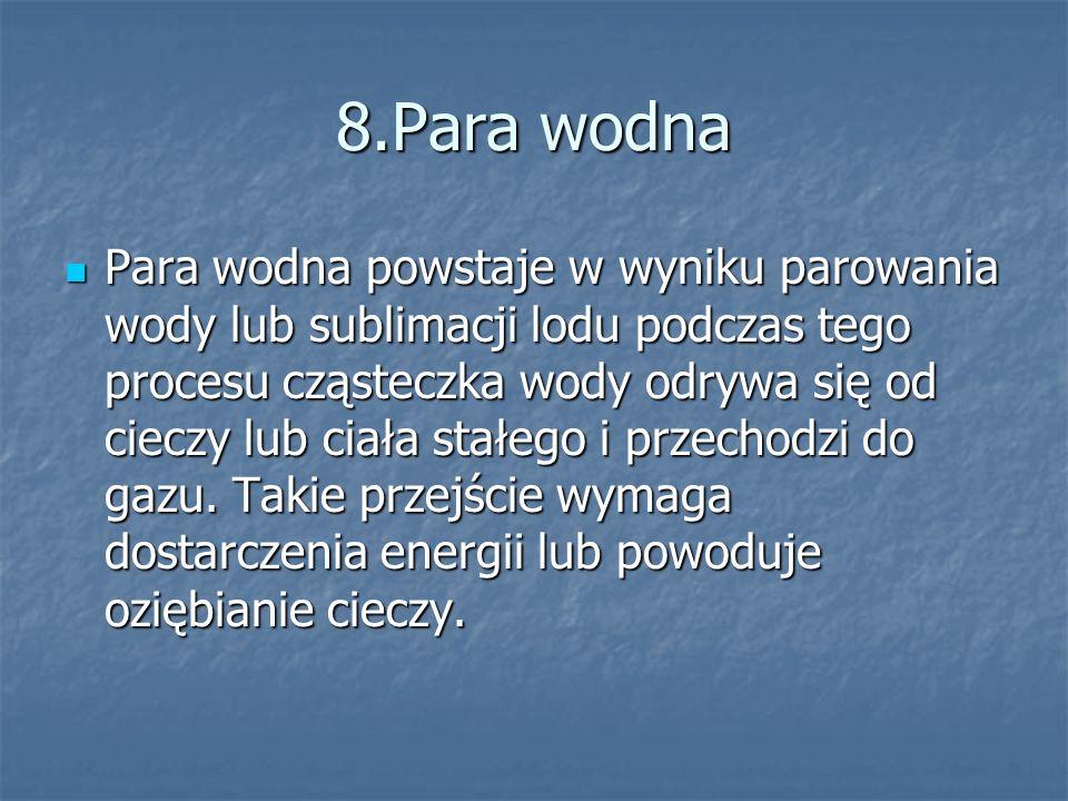 8.Para wodna