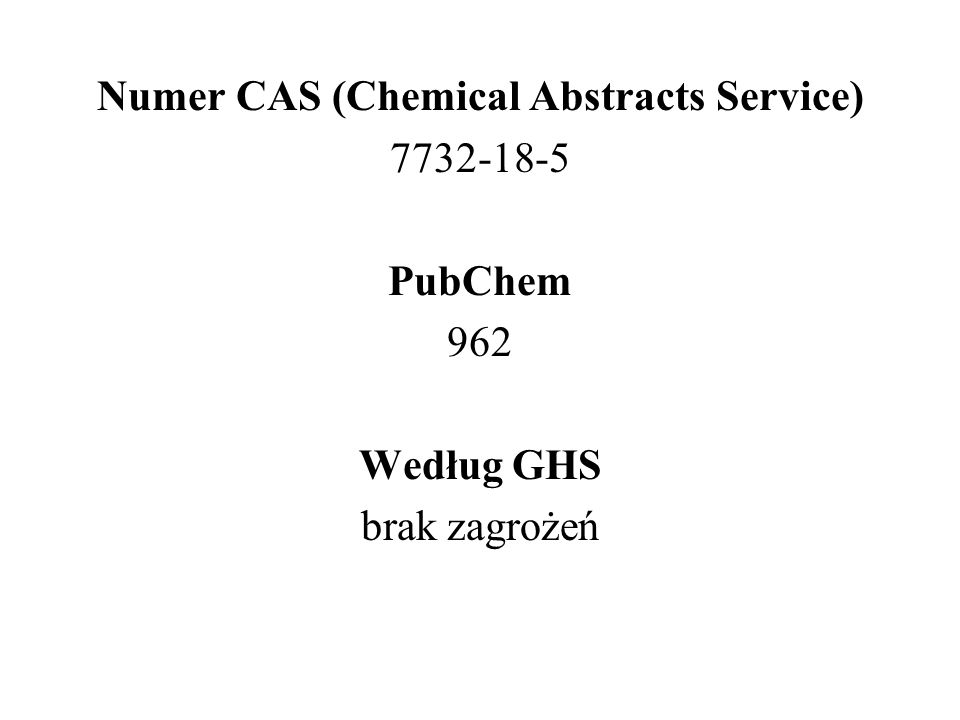 Numer CAS (Chemical Abstracts Service)