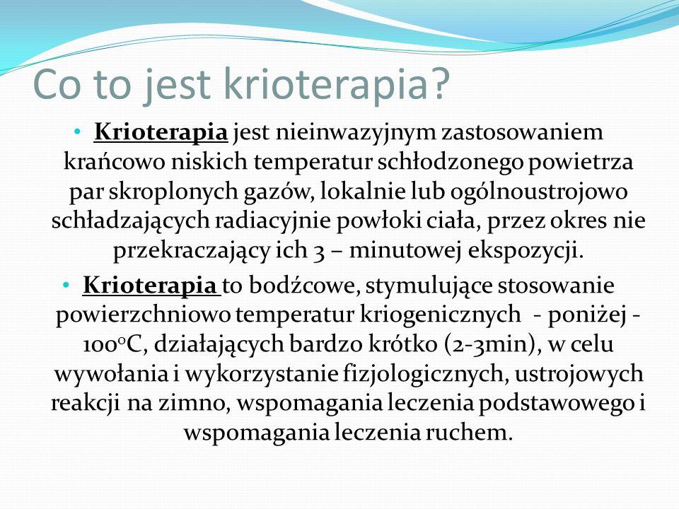 Co to jest krioterapia