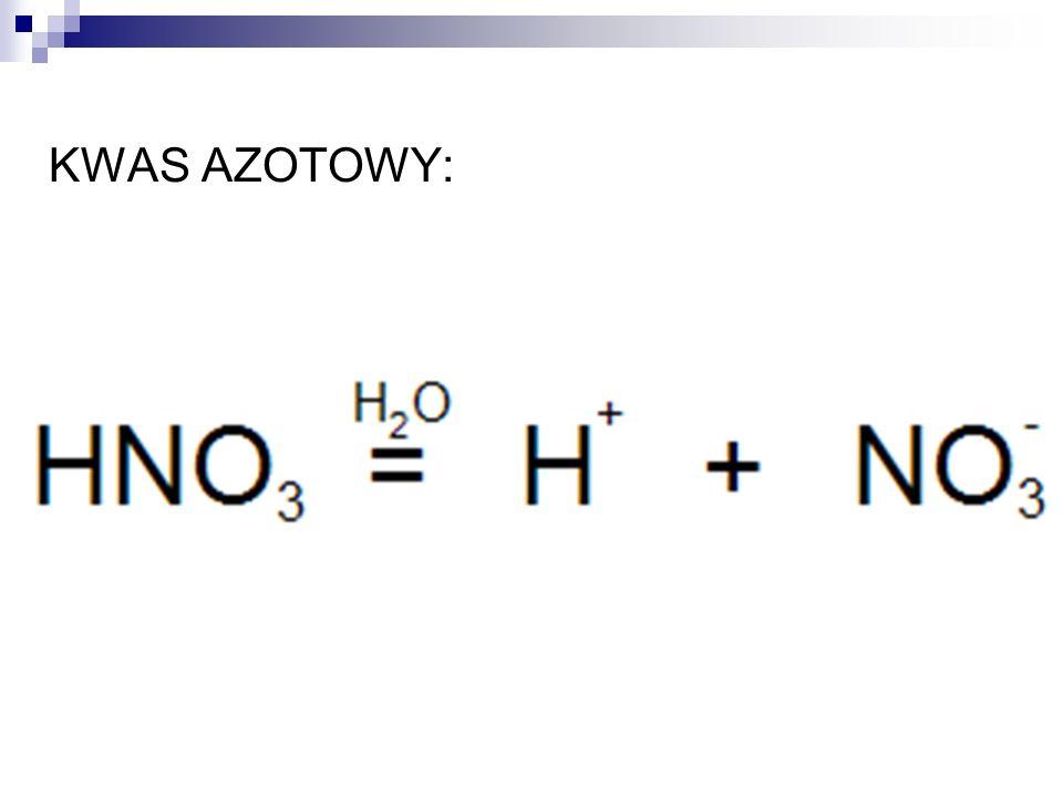 KWAS AZOTOWY: