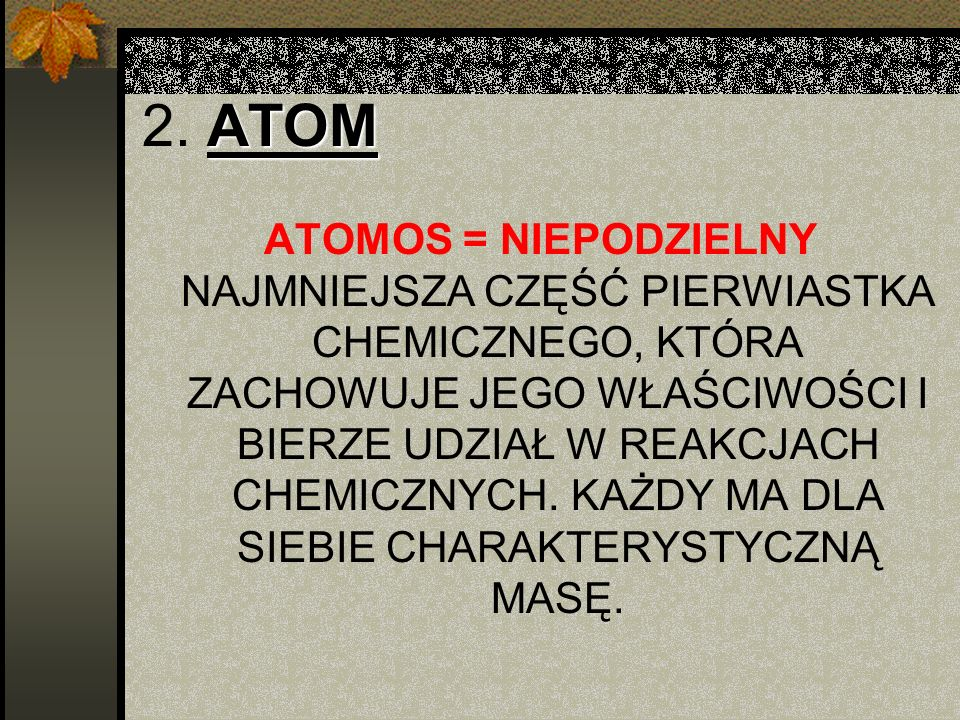 2. ATOM