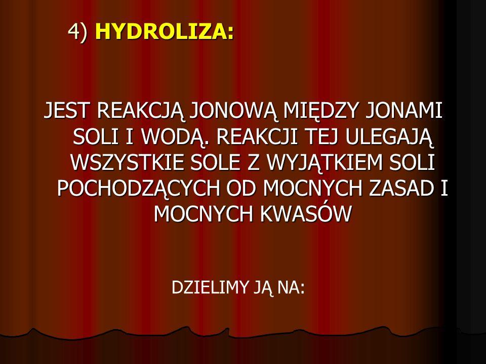 4) HYDROLIZA: