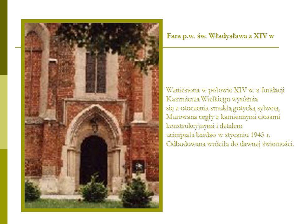 Fara p.w. św. Władysława z XIV w