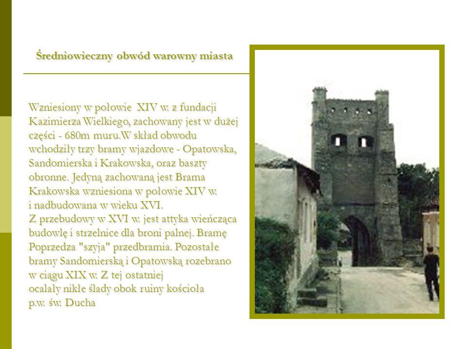 Średniowieczny obwód warowny miasta