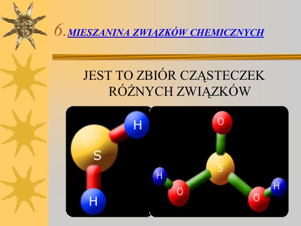 6.MIESZANINA ZWIĄZKÓW CHEMICZNYCH