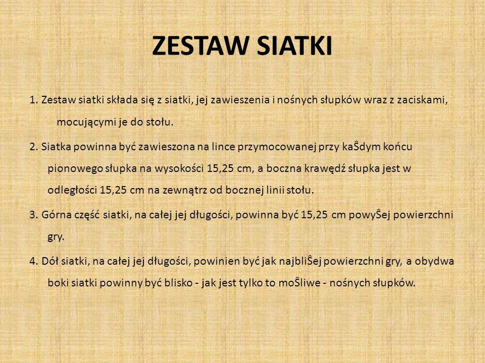 ZESTAW SIATKI