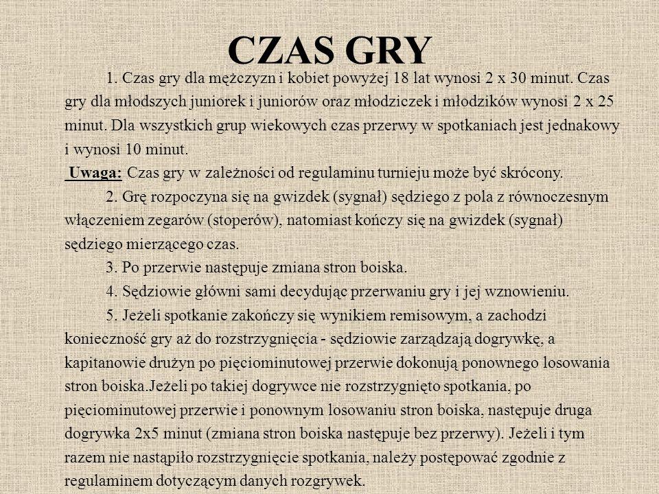 CZAS GRY