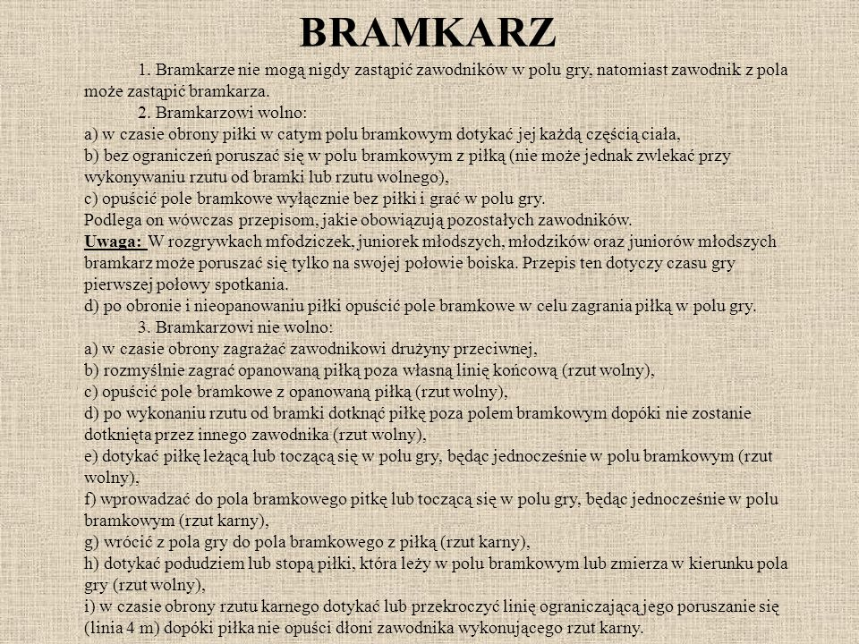 BRAMKARZ