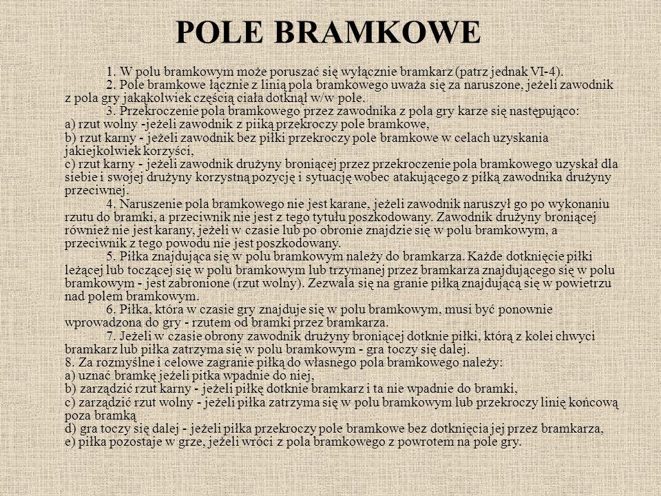 POLE BRAMKOWE