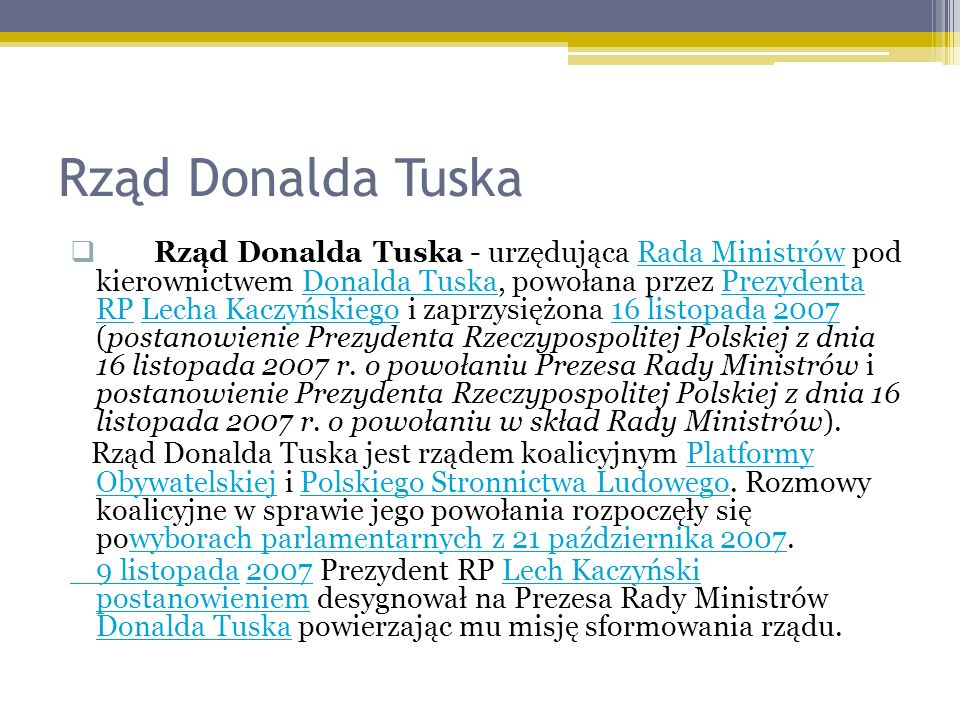 Rząd Donalda Tuska
