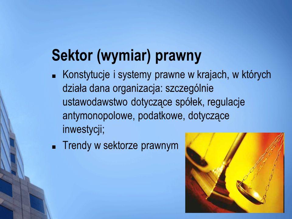 Sektor (wymiar) prawny