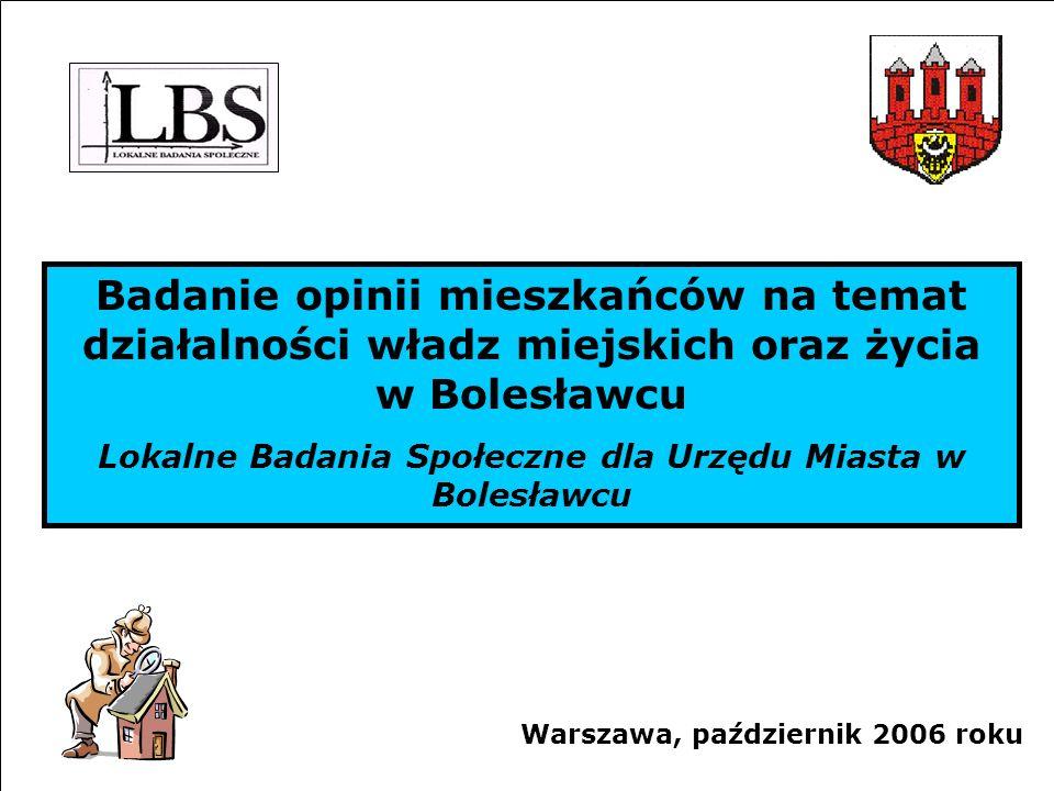 Lokalne Badania Społeczne dla Urzędu Miasta w Bolesławcu