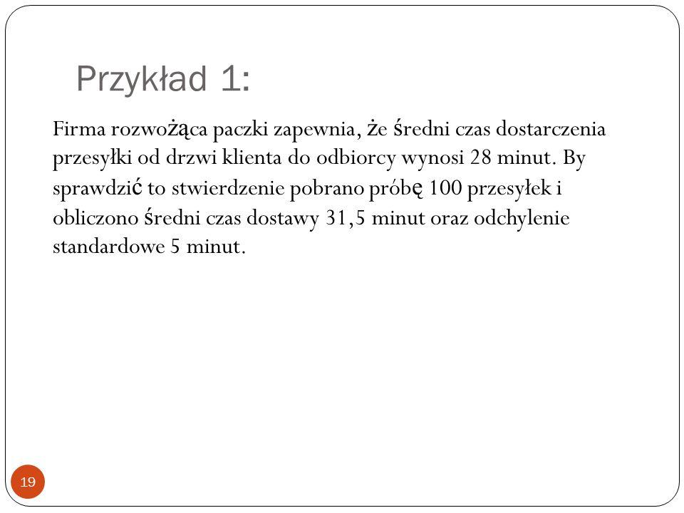 Przykład 1: