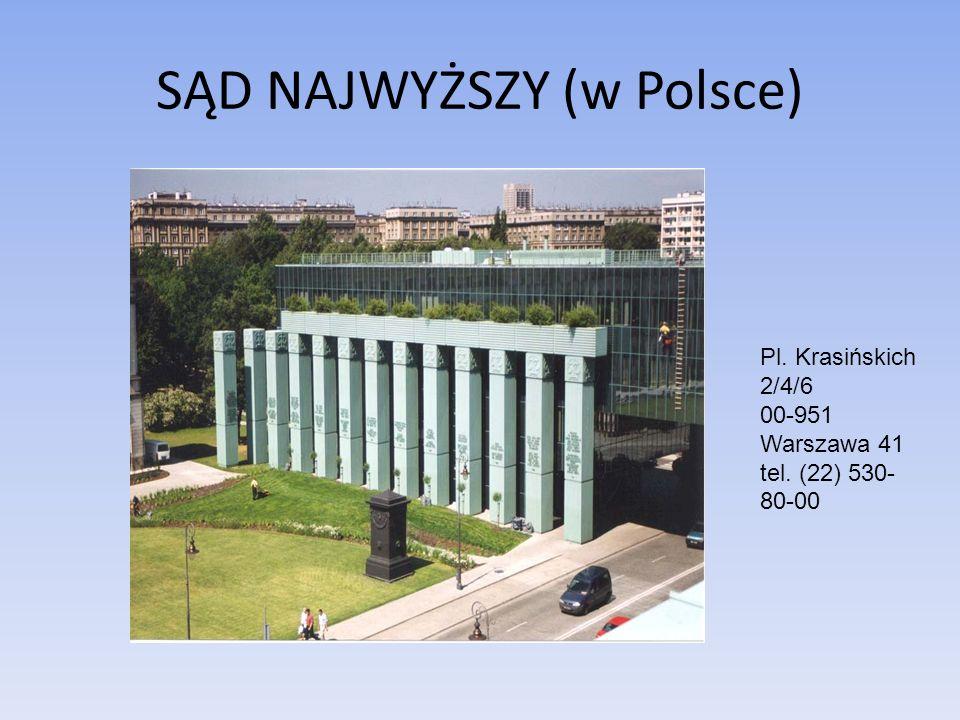 SĄD NAJWYŻSZY (w Polsce)